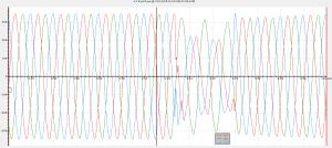 Voltage Dip Waveform 31-12-2013 1905hrs (at Low Voltage)